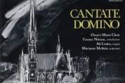 """[국악버젼 해외음반]    Cantate Domino - Oscar's Motet Choir - track 9 """"Lullaby"""" (Korean Folksong) ,ARIRANG"""