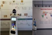 비대면 시대, 인공지능 로봇이 문화전시 안내한다